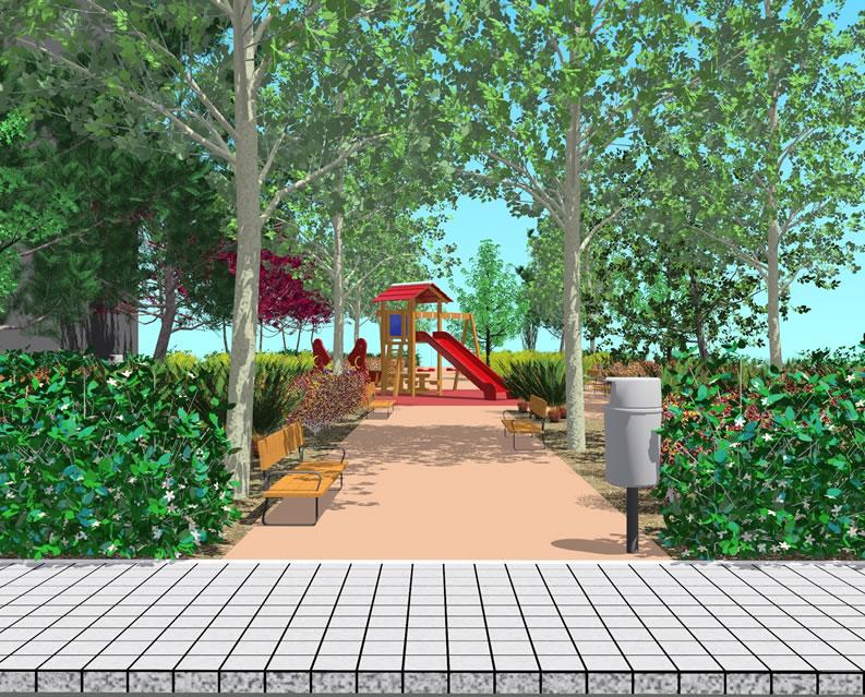 Dise o de areas verdes y jardines casa dise o for Jardines verdes